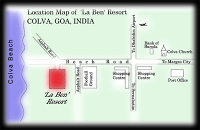 Location Map Of Goa
